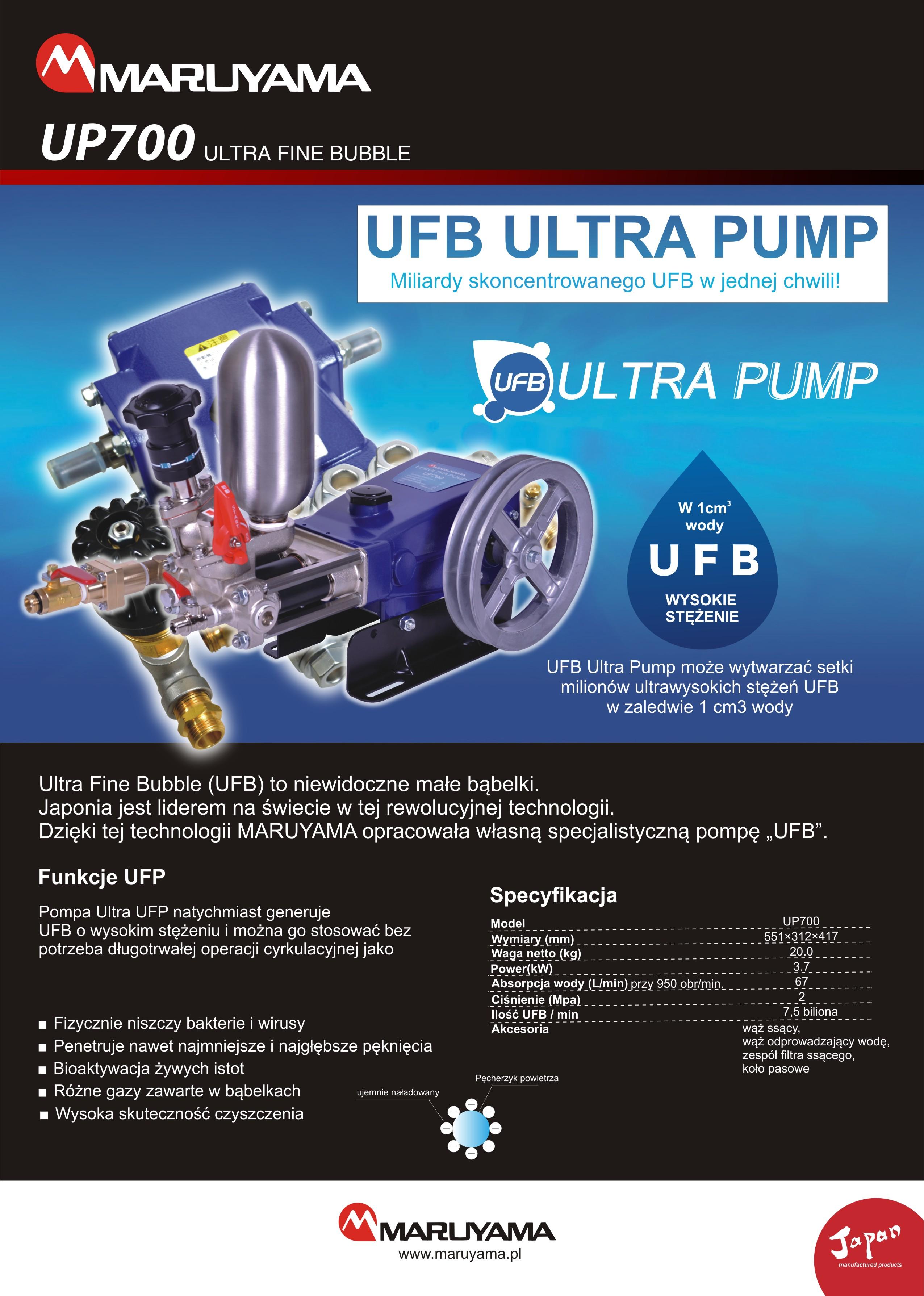 UP700 UFB
